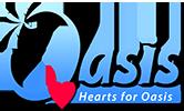 Horizontal Logo - Hearts For Oasis