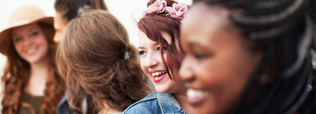 Image of Girls Bonding Talking About Non-Profit Ministries in Tampa Bay