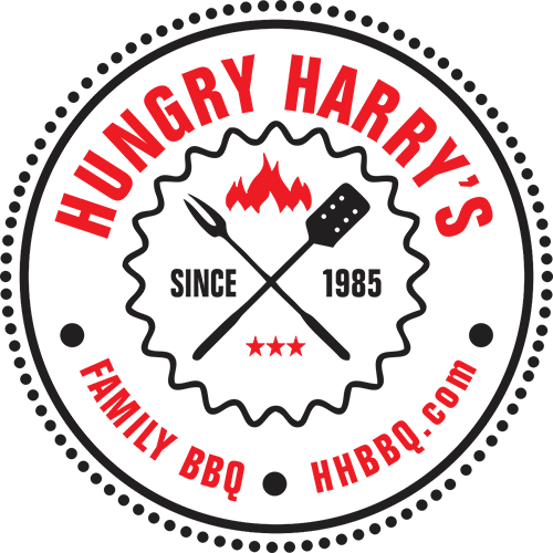 Logo for Hungry Harry BBQ in Land O Lakes